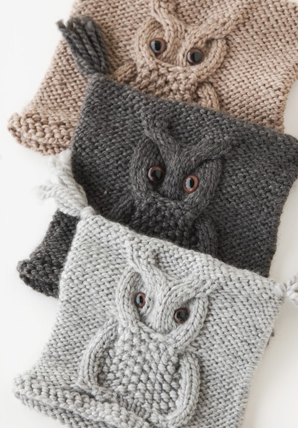 Knit Owl Hat Pattern  A Knitting Blog