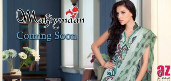 Mahiymaan-Lawn-Collection-2013-By-Al-Zohaib-Textiles-New-Latest-Fashionable-Clothes-6