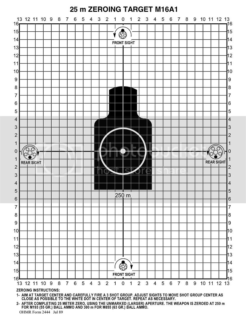 1960s and 70s 25 Meter target FSM 6920-906-0169 Who has it? - AR15.COM