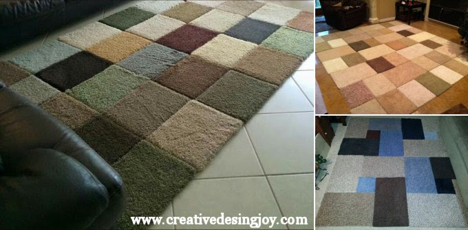 Make Rugs From Free Carpet Samples, An Easy DIY Project ...