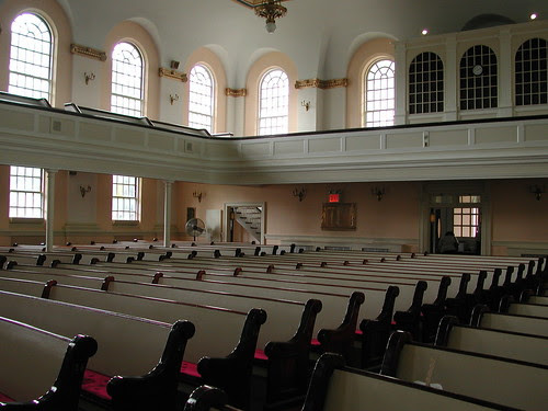 Interior, Flatbush-Topmkins Congregational Church
