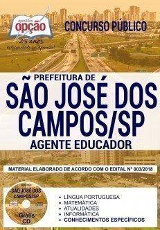 Apostila Concurso Prefeitura de São José dos Campos 2018 | AGENTE EDUCADOR