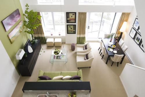 Desain Ruang Tamu Dan Ruang Makan Menyatu Terbaru