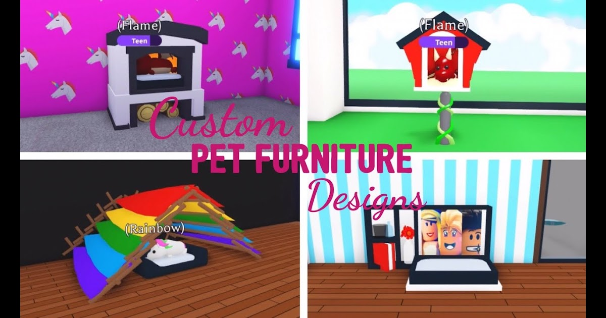 Adopt Me Roblox Pet Room Ideas