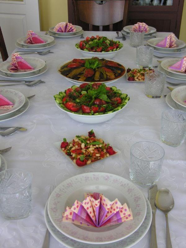 Akrabalarla Öğle Yemeği