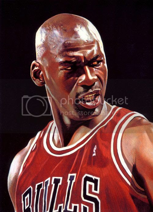 Michael Jordan acrylic