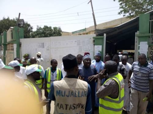 [News] DSS, Police Begin Fresh Screening At INEC Collation Centre In Kano