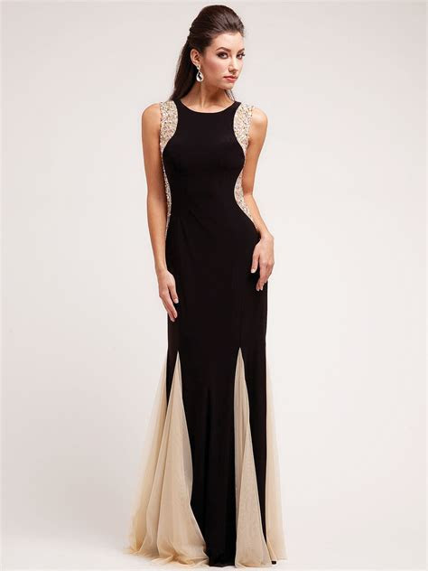 A Black Tie Affair Evening Dress   Hallowedding