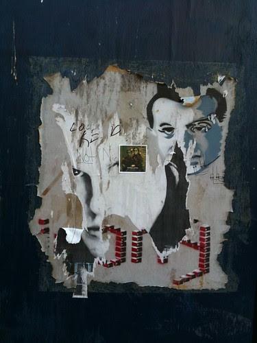Chelsea street art (décollage)