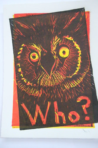 mis-registered owl