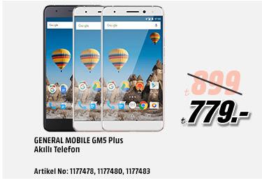 General Mobile GM5 Plus Akıllı Telefon 779TL