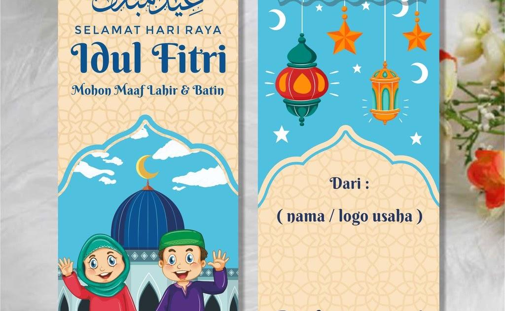 Kartu Ucapan Idul Fitri 1441 H Yang Bisa Di Edit - kartu ...