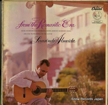 ALMEIDA, LAURINDO guitar music from the romantic era