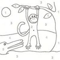 colornumber and more printable coloring pages / preschool items  juxtapost