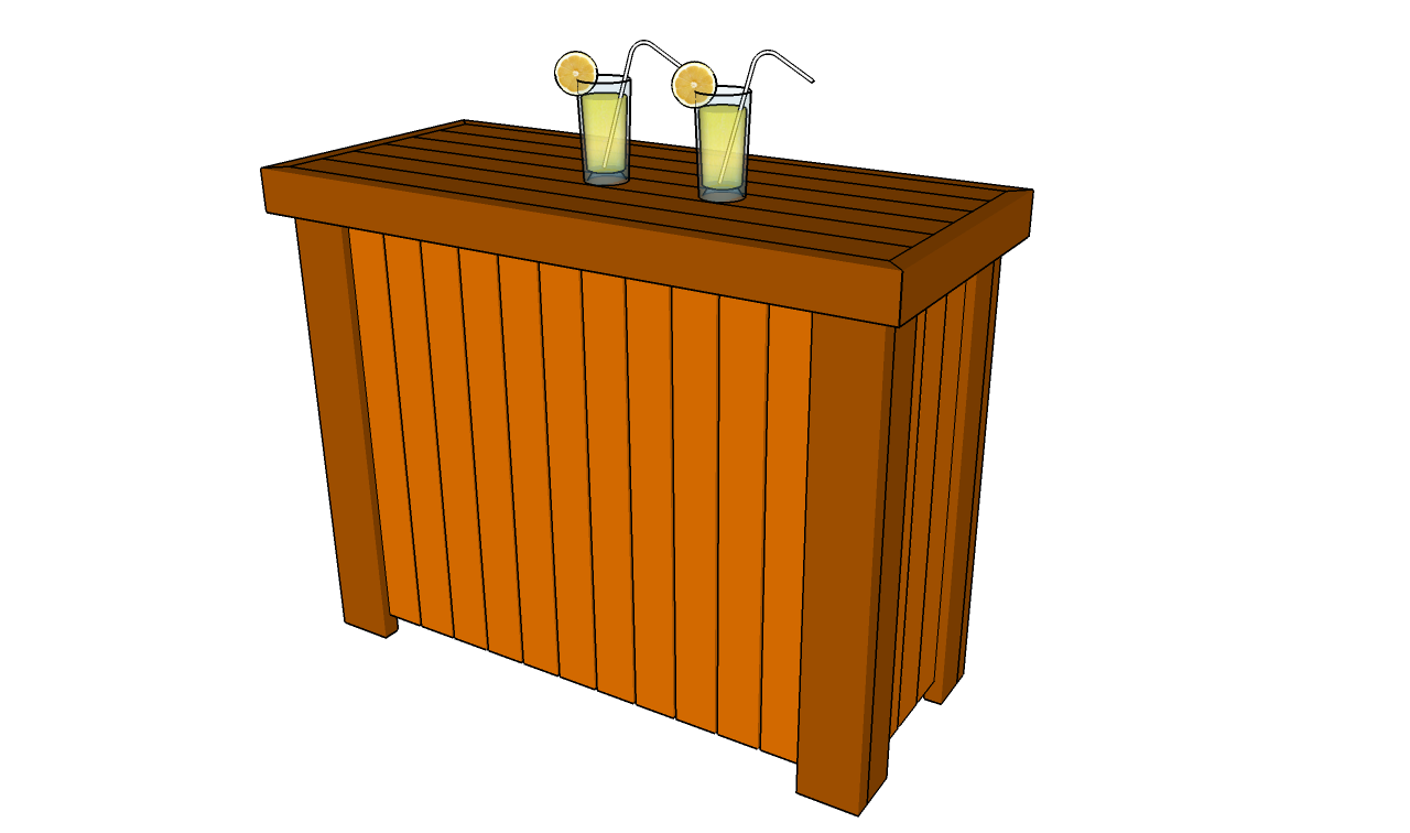 Wood desk: Ideas Outdoor bar woodworking plans