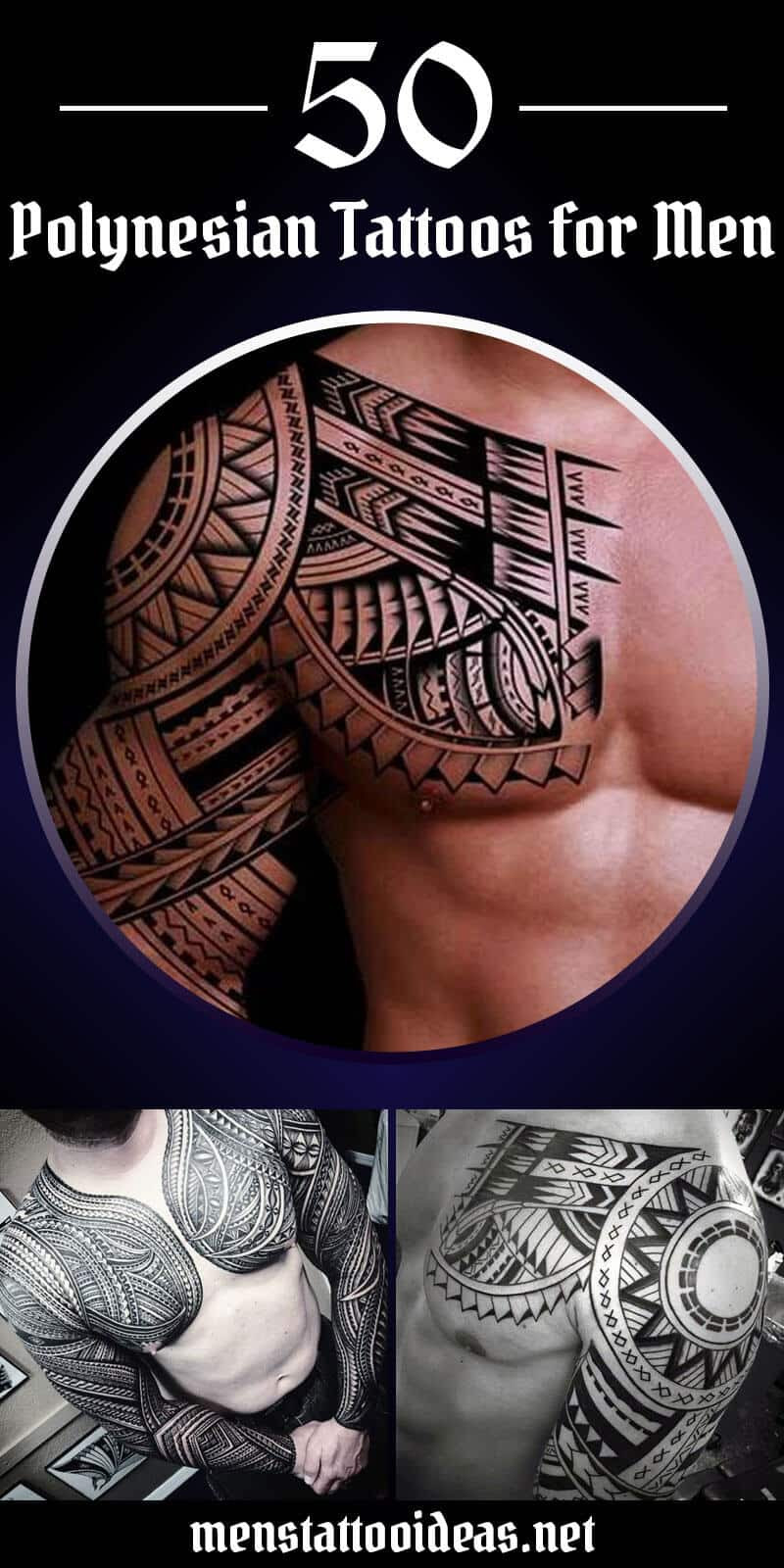 Polynesian Tattoos for Men - Ideas and Designs for Guys