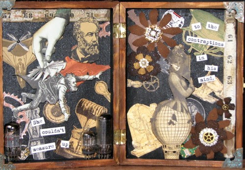 His Loss - Steampunk Collage 004