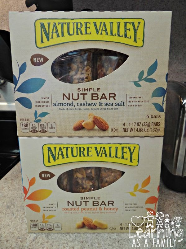 Nature Valley Simple Nut Bar, Gluten Free and Convenient ...