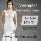 discount wedding dresses uk vividress