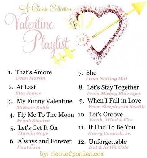 A Valentine Playlist   Nest of Posies