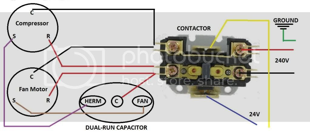 Wiring Diagram For Rheem Heat Pump Contacter