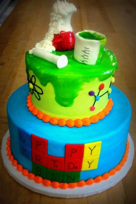Science Themed Birthday Party Cake ? Trefzger's Bakery