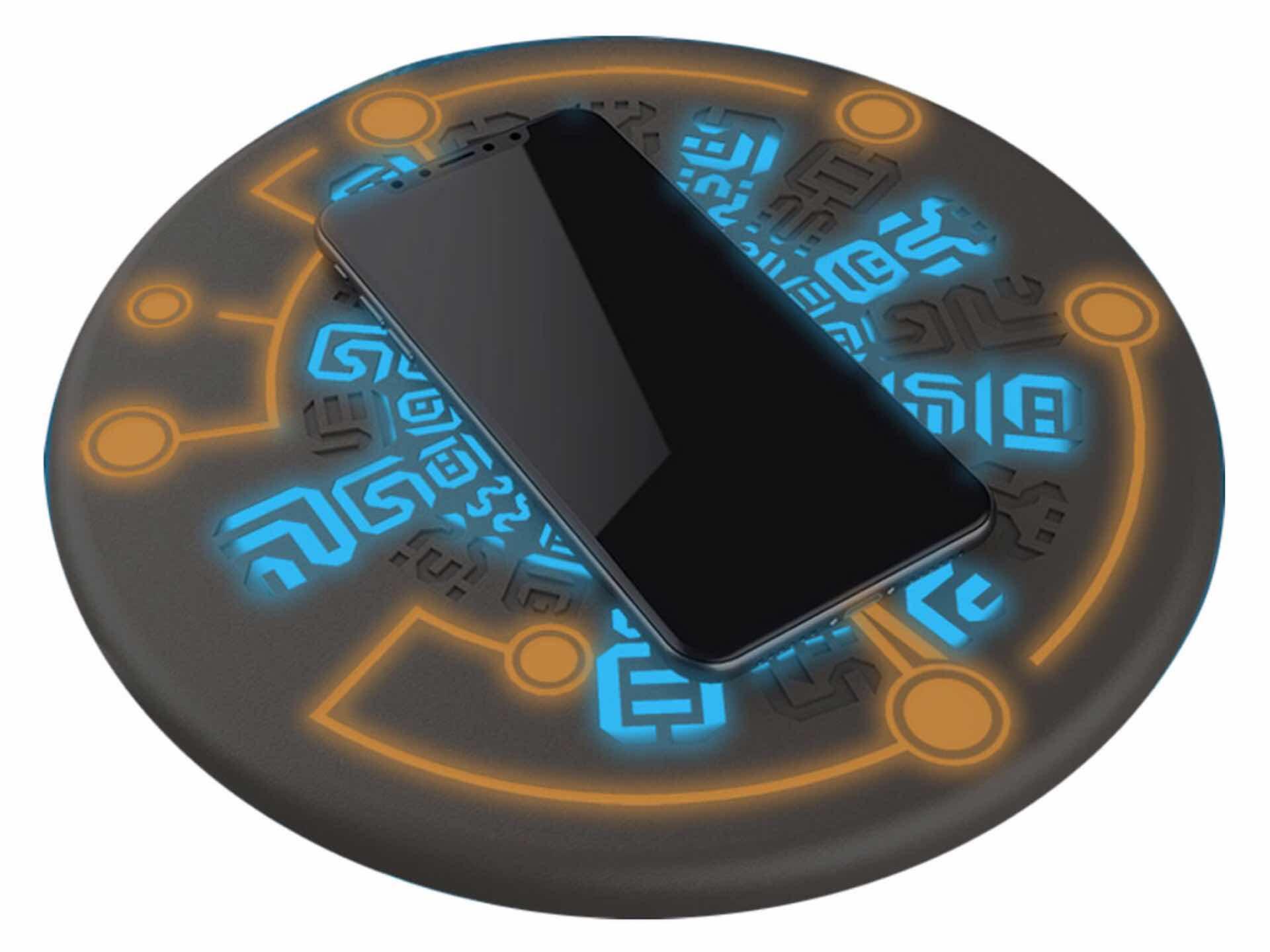 Regisbox Sheikah Slate Zelda Themed Wireless Phone Charging Pad