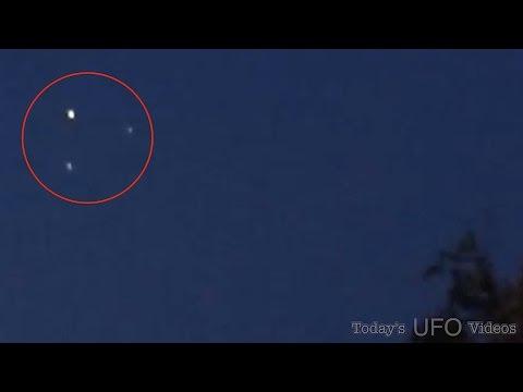 UFO Mencoba Berkomunikasi Tertangkap Kamera