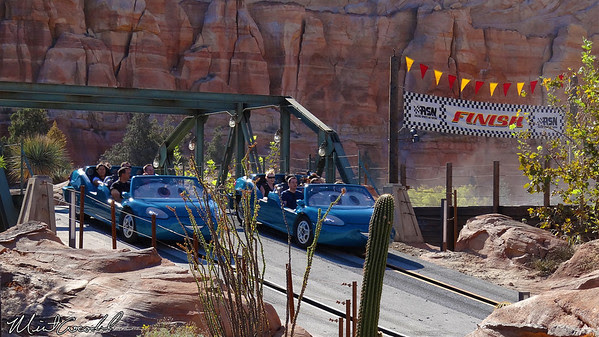 Disney California Adventure, Cars Land, Radiator Springs Racers