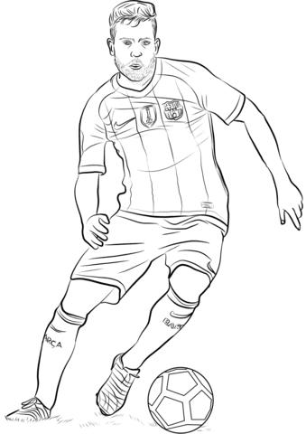 Dibujos De Lionel Messi Para Colorear