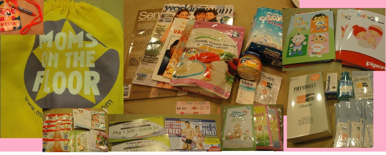 The Loot Bag, Freebies and Raffle Prizes!