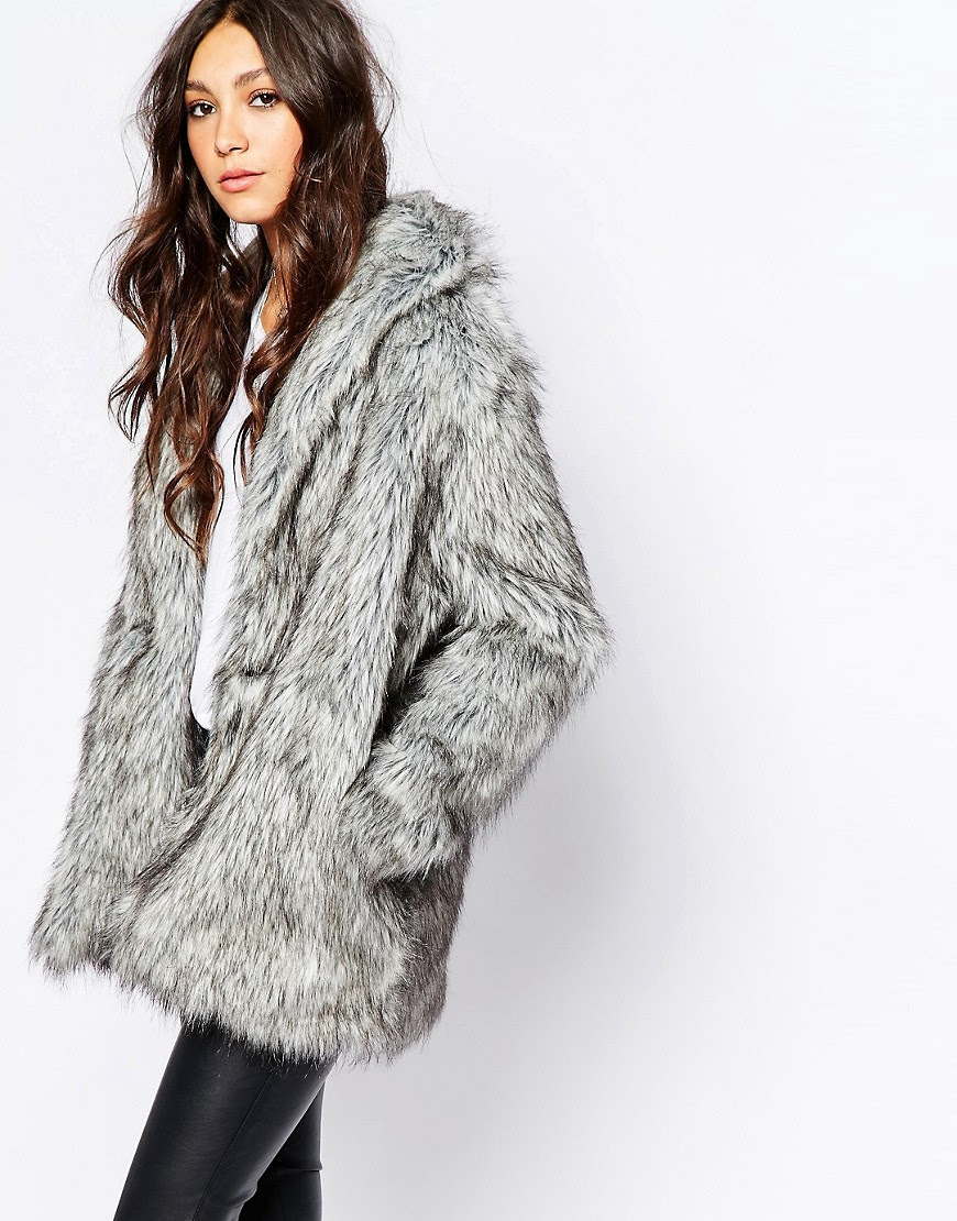 Image 1 of Religion Fluffy Faux Fur Coat