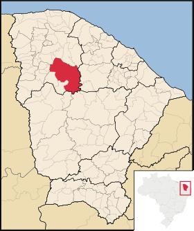 Localização de Santa Quitéria