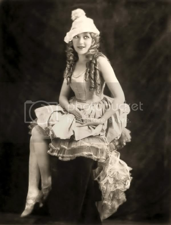 Mary Pickford 1920s silent movie starlet