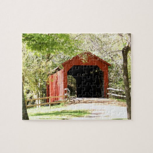 Sandy Creek Covered Bridge Puzzle
