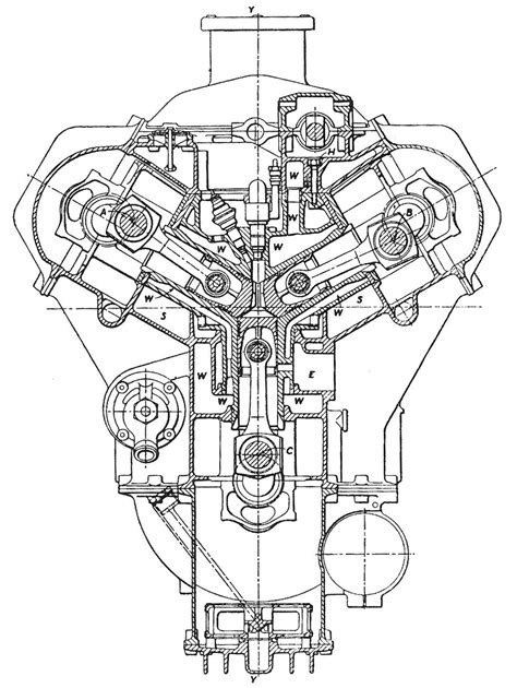 Diesel Engine Drawing at GetDrawings.com | Free for