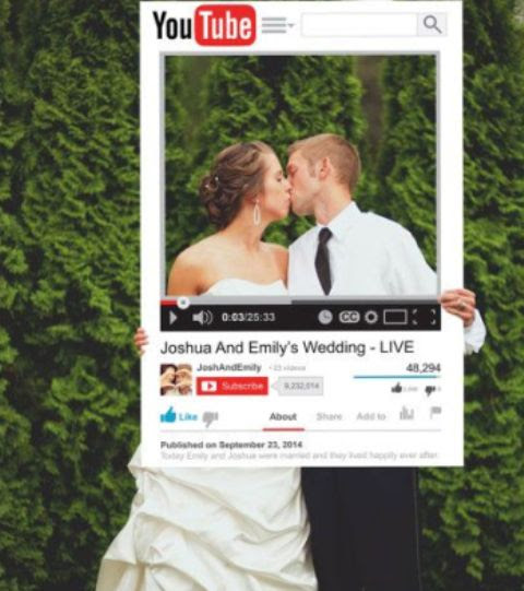 Ideas For Wedding Photo Booth Props Beloved Blog