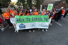 Walk to School Day 2011, Henrico, Virginia