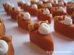 pumpkin pie bokeh