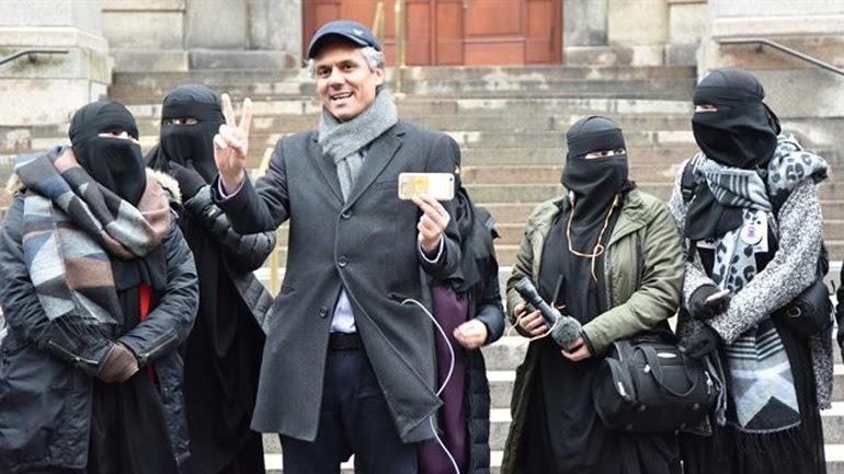 Αλγερινός «δικαιωματιστής» πληρώνει τα πρόστιμα σε όσες φοράνε μπούρκες