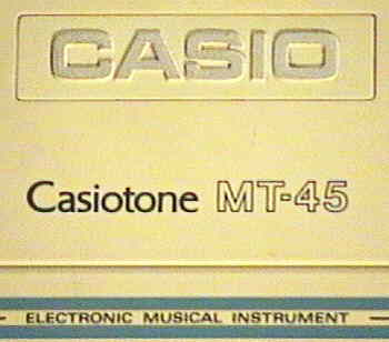 Casiotone MT-45