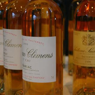 Château Climens and Château Suduiraut