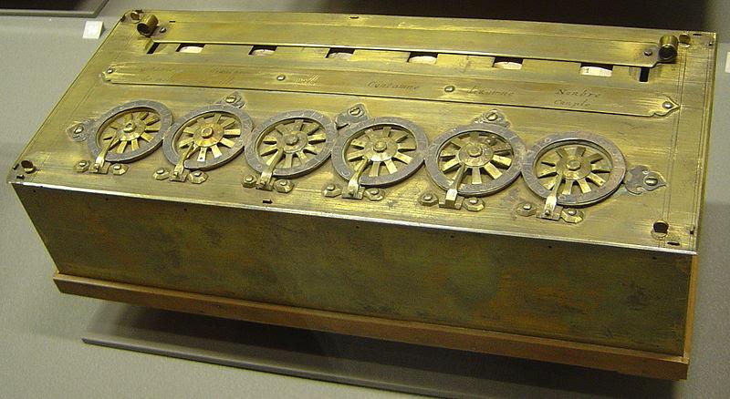 Pascalina Museo de Artes Decorativas en París, que data de 1652, Blaise Pascal