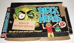 Topps Blockheads display box
