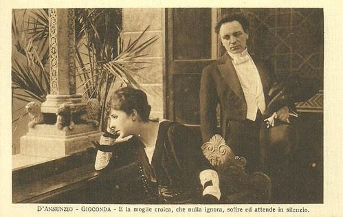 Mercedes Brignone and Umberto Mozzato in La Gioconda