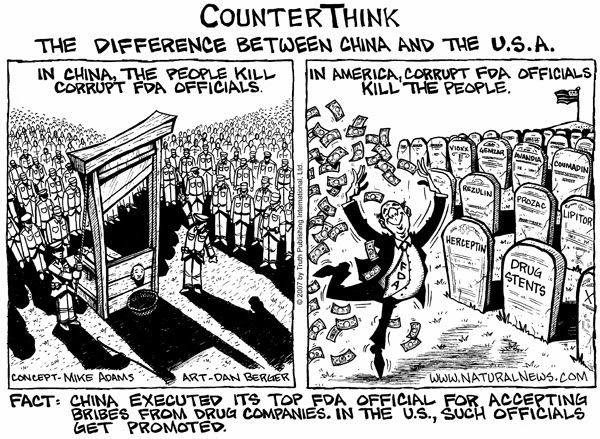 China's FDA solution (comic)