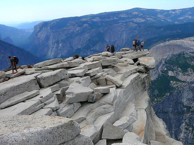 P1180383 Half Dome Trail: Top of Half Dome