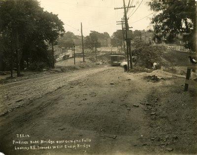 Frederick Road Bridge over Gywnns Falls