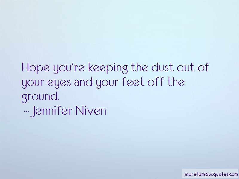 Quotes About Keeping Feet On The Ground Top 10 Keeping Feet On The