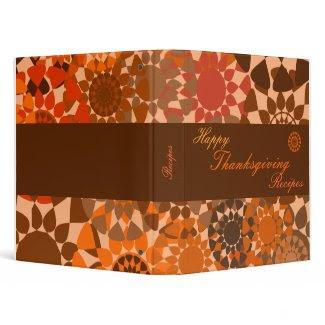 Rounds Thanksgiving Recipe Binder binder